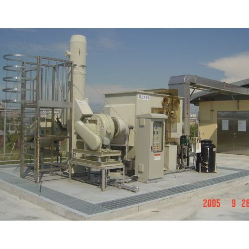 Wet Type: Horizontal -waste gas treatment equipment