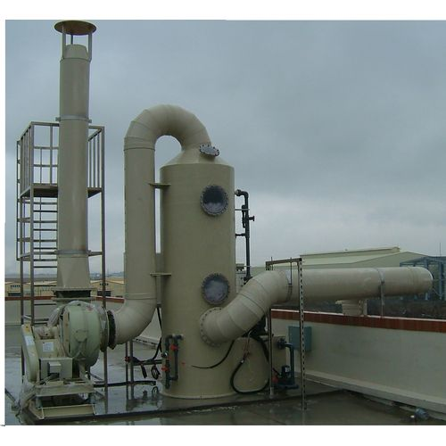 Wet Type: Vertical-waste gas treatment equipment