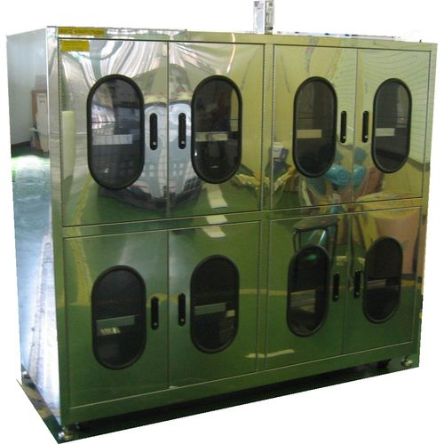 N2 Box, Chemical cabinets